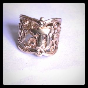"""Jewelry - Vintage 14kt Gold """"Chai"""" Ring"""